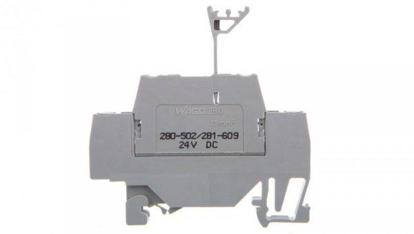 Złączka z warystorem 24V DC 280-502/281-609 /50szt./