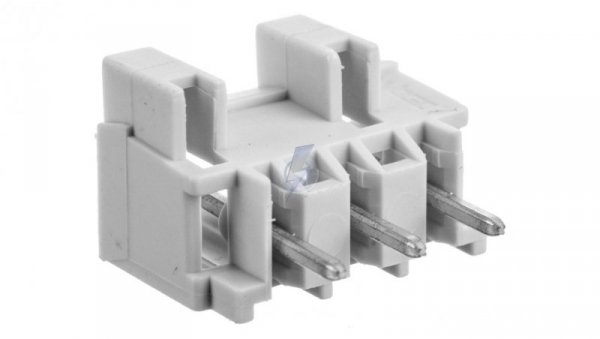 Wtyk MCS-MIDI Classic 3-biegunowy jasnoszary raster 5mm 721-133/001-000