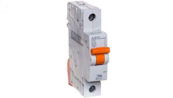 Wyłącznik nadprądowy 1P B 10A 6kA AC DE91B10 690804