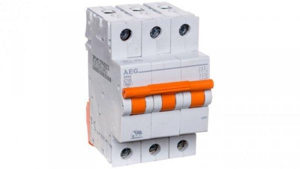 Wyłącznik nadprądowy 3P C 10A 6kA AC DE93C10 690825