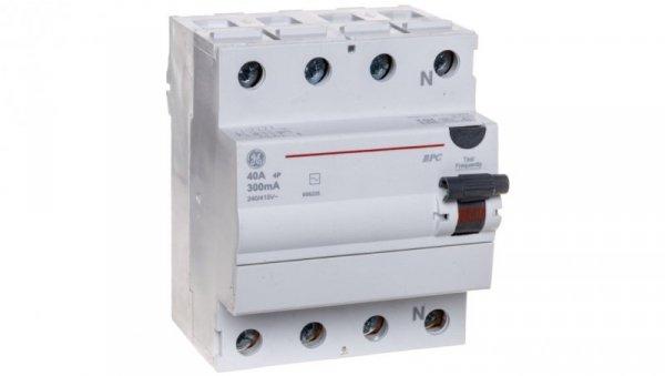Wyłącznik różnicowoprądowy 4P 40A 0,3A typ AC BPC440/300 606225