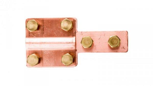 Złącze kontrolne 4-otworowe miedziane 4.1 CU /90400103/