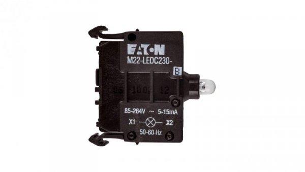 Oprawka z LED niebieska 230V AC M22-LEDC230-B 218060