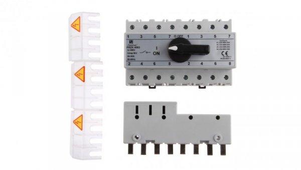 Przełącznik sieć-agregat 63A 4P PRZK-4063W02