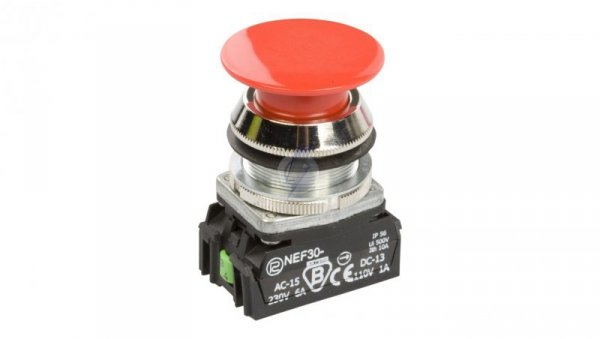 Przycisk sterowniczy 30mm czerwony 1Z 1R 30mm W0-NEF30-D XY C