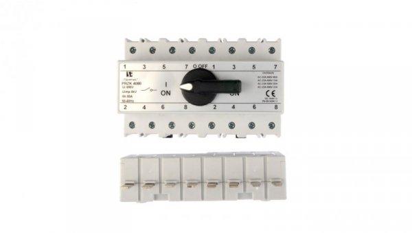 Przełącznik sieć-agregat 80A 4P PRZK-4080W02