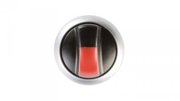 Napęd przełącznika 2 położeniowy czerwony z podświetleniem bez samopowrotu M22-WRLK-R 216825