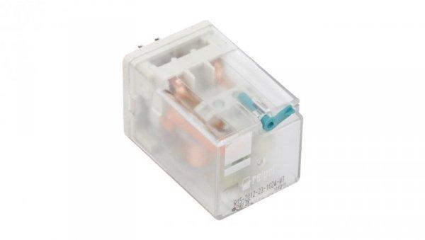 Przekaźnik przemysłowy 2P 10A 24V DC AgNi R15-2012-23-1024-WT 802882