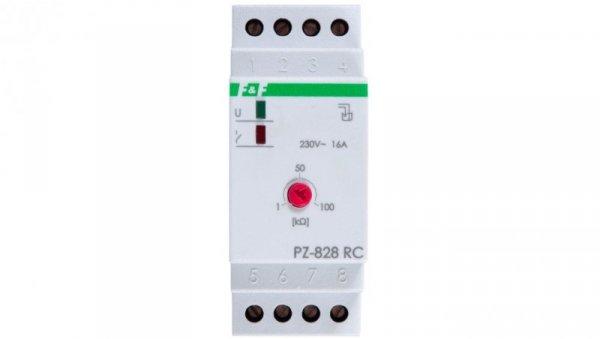Przekaźnik kontroli poziomu cieczy 16A 1P 1-100kOhm z regulacją czułości PZ-828RC