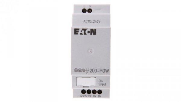 Zasilacz stabilizowany 230VAC/24VDC 0,2A EASY200-POW 229424