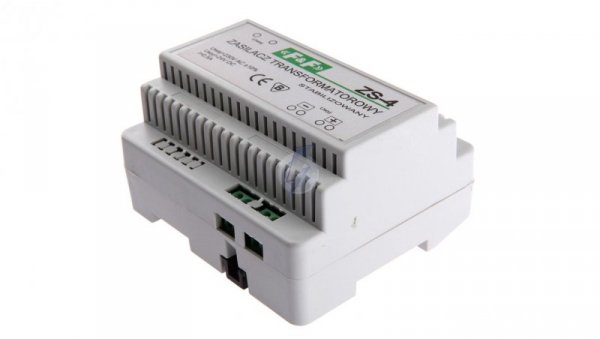 Zasilacz stabilizowany 230VAC/24VDC 12W 0,5A ZS-4