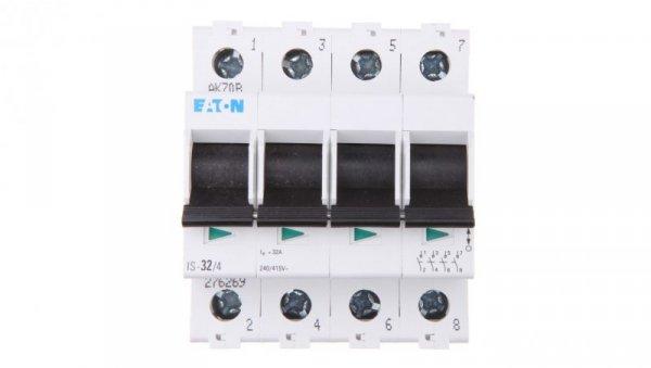 Rozłącznik modułowy 32A 4P IS-32/4 276269