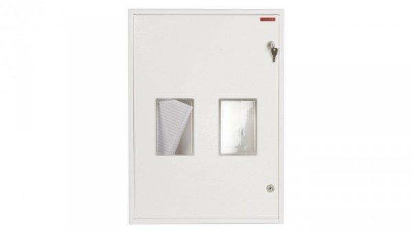 Szafka licznikowa natynkowa/podtynkowa (uniwersalna) 2-licznikowa 3-fazowe 20 modułów IP30 RU-2L-20 Z/O