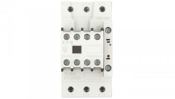 Stycznik mocy 50A 3P 230V AC 2Z 2R DILM50-22 (230V50HZ,240V60HZ) 277862
