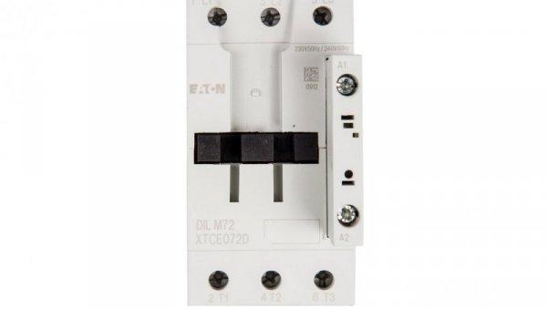 Stycznik mocy 72A 3P 230V AC 0Z 0R DILM72(230V50HZ,240V60HZ) 107670