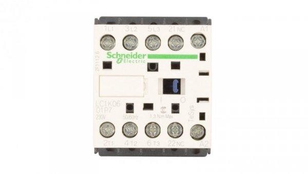 Stycznik mocy 6A 3P 230V AC 0Z 1R LC1K0601P7