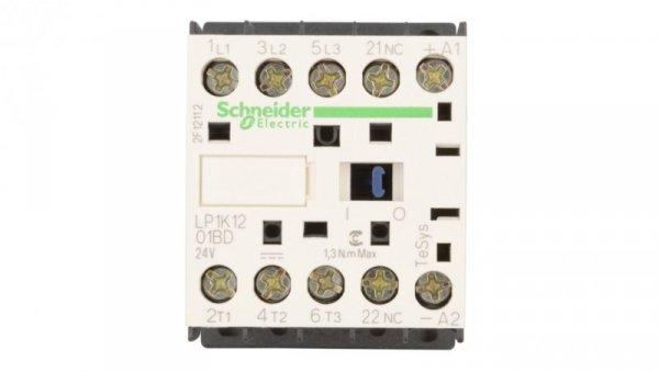 Stycznik mocy 12A 3P 24V DC 0Z 1R LP1K1201BD