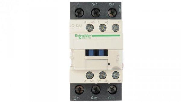 Stycznik mocy 32A 3P 24V AC 1Z 1R LC1D32B7