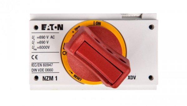Napęd bezpośredni czerwono-żółty z blokadą NZM1-XDVR 260135