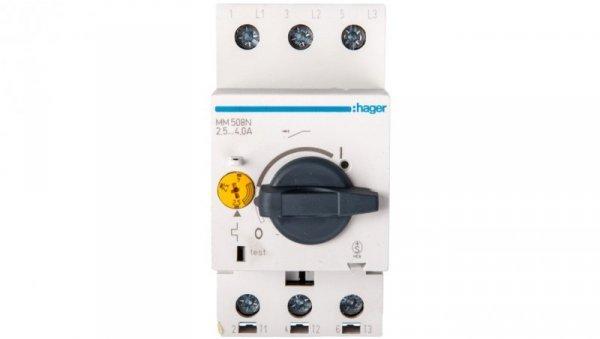 Wyłącznik silnikowy 3P 1,5kW 2,4-4A MM508N