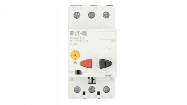 Wyłącznik silnikowy 3P 4kW 6,3-10A PKZM01-10 278484