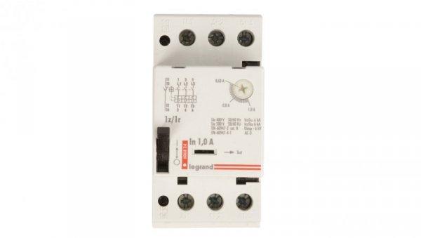 Wyłącznik silnikowy 3P 0,25kW 0,63-1A M 250 1R/1Z 0,25 606824