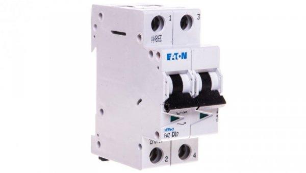 Wyłącznik nadprądowy 2P C 4A 15kA AC FAZ C4/2 278752