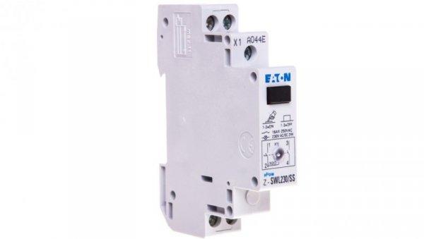 Przełącznik modułowy z lampką sygnalizacyjną 16A 2Z Z-SWL230/SS 276306
