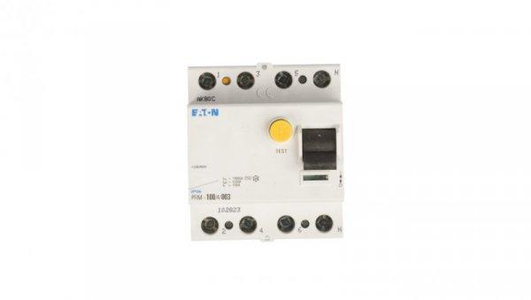Wyłącznik różnicowoprądowy 4P 100A 0,03A typ AC PFIM-100/4/003 102823