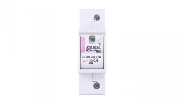 Rozłącznik bezpiecznikowy 1P 63A STV D02 002271001