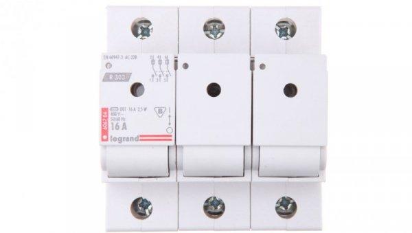 Rozłącznik bezpiecznikowy 3P 16A D01 R303 606704