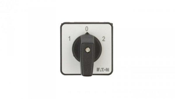 Łącznik krzywkowy 1-0-2 1P 20A do wbudowania T0-1-8210/E 012742
