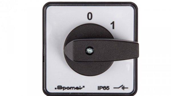 Łącznik krzywkowy 0-1 3P 100A do wbudowania SK100-2.8211P03