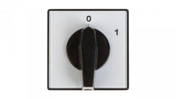 Łącznik krzywkowy 0-1 3P 25A do wbudowania 4G25-10-U 63-840304-031
