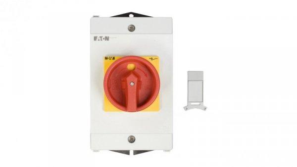 Łącznik krzywkowy 0-1 3P 25A 1Z 1R w obudowie IP65 P1-25/I2/SVB/HI11 207297