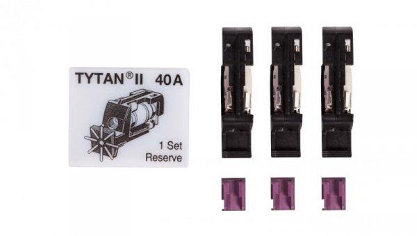 Wtyk bezpiecznikowy D02/gG/40A/400V Z-SLS/B-40A z sygnalizacją 289974 (3szt.)