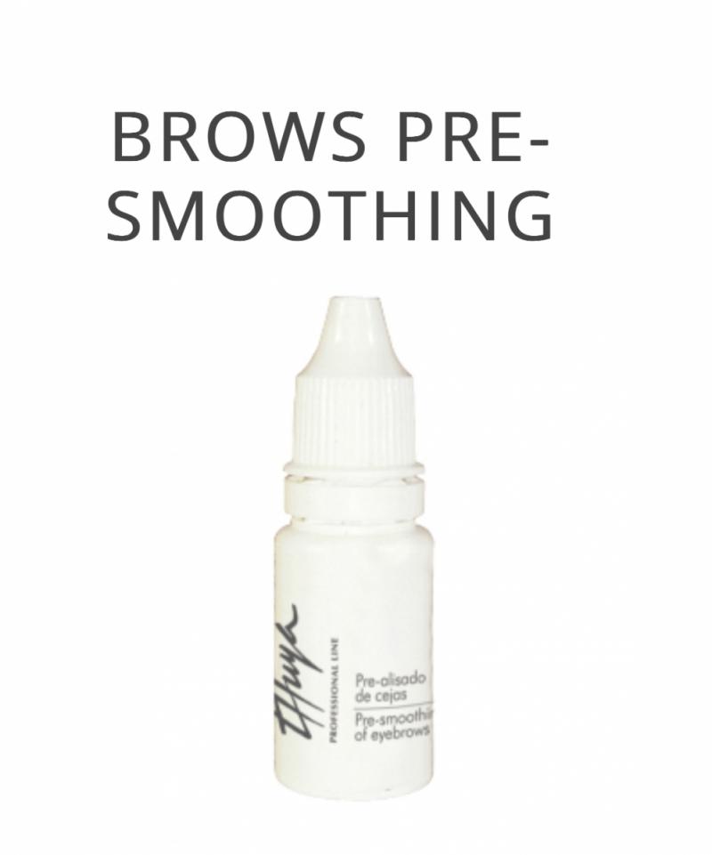 Eyebrows pre-smoothing Thuya