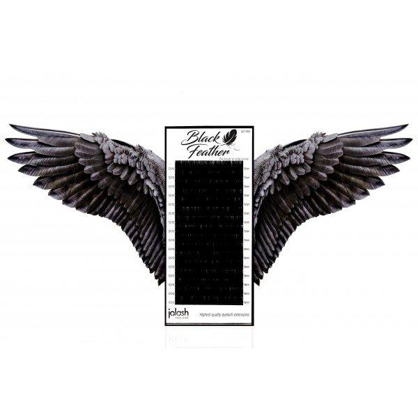Rzęsy Black Feather C 0,12 Mix