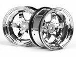 WORK MEISTER S1 WHEEL 26mm CHROME (6mm OFFSET)