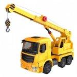 Ciężarówka z dźwgiem (dźwięki i światła, ręczna obsługa dźwigu)