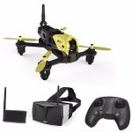 Dron wyścigowy Hubsan H122D X4 Storm FPV + gogle + monitor LCD