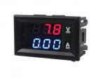 Miernik woltomierz i amperomierz 0-100V 10A ver. V2.0 - 0,56 w obudowie