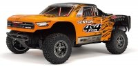 Model RC ARRMA 1/10 SENTON 4x4 3S BLX Brushless SCT RTR, Orange/Black