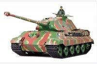 "Czołg German King Tiger Porsche 2.4 GHz - Panzerkampfwagen VI Ausf. B ""Königstiger"" Porsche 1:16 Camo - V.3"