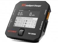 V6 Mini Intelligent Charger V6 - 300W - 16A - LiPo/LiIon/LiHV/NiMH<br />/Cd/Pb Ładowarka procesorowa z kolorowym wyświetlaczem input 7-28V