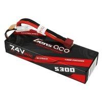 Akumulator Gens Ace 5300mAh 7,4V 60C 2S1P T-Dean Bashing HardCase