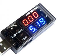 Woltomierz i Amperomierz - Tester USB - Miernik KEWEISI