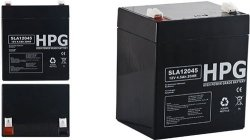 Bezobsługowy akumulator żelowy Pb 12V 4,5Ah
