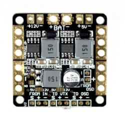 Płytka zasilająca PDB 2xBEC 12V i 5V i LC Filter - do CC3D, NAZE32