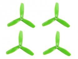 Śmigła DAL V2 T5045 -  zielone - Tri-blade - 5x4,5x3 - 2xCW/2xCC